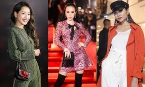 Dàn người đẹp Việt đầy phong cách trên thảm đỏ thời trang