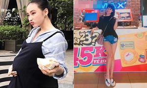 Sao Việt 9/9: Angela Phương Trinh bầu 'vượt mặt', Yến Chibi chân dài bất thường