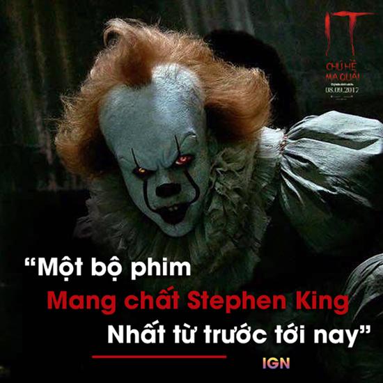 Tác phẩm đã trả tiểu thuyết rùng rợn nhất của nhà văn Stephen King về đúng chỗ của nó