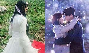 Sao Hàn 12/9: Suzy ôm Lee Jong Suk tình tứ, Yoon Ah váy trắng yểu điệu
