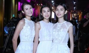 3 cô gái 'team Sang' diện đồ đồng điệu đi sự kiện