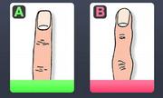 Bói vui: Bản chất con người bộc lộ rõ qua hình dáng ngón tay
