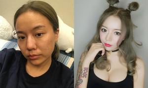 Ai cũng phải bái phục tài photoshop của các hot girl mạng Trung Quốc