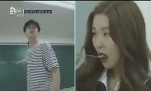 Irene, Seul Gi mất mặt khi bị bắt quả tang lúc ăn vụng