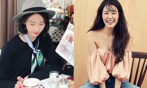 Sao Hàn 18/9: Tiffany diện áo trễ ngực gợi cảm, Yoon Ah thanh lịch như quý cô