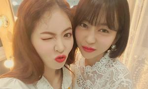 Chuyên gia trang điểm xinh như idol đứng sau sắc đẹp của Hyun Ah