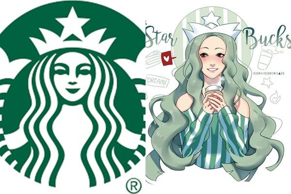 logo-thuong-hieu-do-an-bong-hoa-dan-trai-xinh-gai-dep-1