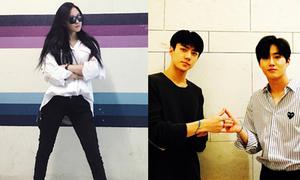 Sao Hàn 20/9: Se Hun - Su Ho đọ vẻ đẹp trai, Hyo Min khoe chân dài cực chất