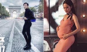 Sao Việt 20/9: Trấn Thành khoe 'mông cong, chân dài', Angela Phương Trinh bế bụng bầu