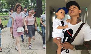 Sao Việt 21/9: Ngọc Trinh ra công viên học tiếng Anh, con trai Tuấn Hưng ngầu hệt bố