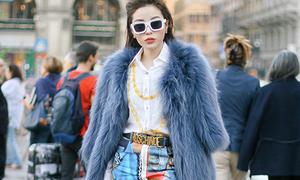 Kỳ Duyên diện đồ đắt đỏ thế nào khi dự Milan Fashion Week