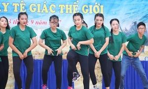 Teen Phú Nhuận nhảy flashmob chất lừ kêu gọi ngưng sử dụng sừng tê giác