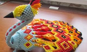Nghệ thuật gấp giấy origami 3D đỉnh cao