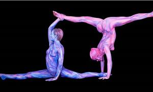 Hình ảnh tuyệt đẹp về 12 chòm sao qua nghệ thuật body painting