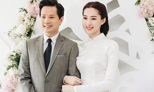 Hoa hậu Đặng Thu Thảo bí mật làm đám hỏi với Trung Tín