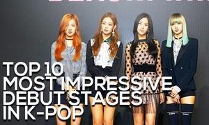 10 sân khấu debut ấn tượng nhất lịch sử Kpop