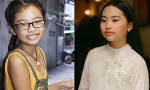 Phương Mỹ Chi 'biến hình' từ cô bé đen, ốm đến thiếu nữ xinh đẹp sau 4 năm vào Vbiz