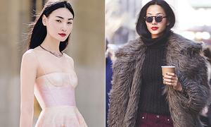 Lên báo ngoại tới tấp vì mặc đẹp, mẫu Việt đâu kém fashionista thế giới