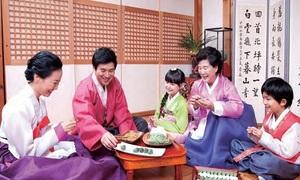 Trung thu cầu kỳ của người Hàn Quốc