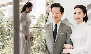 Đặng Thu Thảo làm thơ tặng chồng trước ngày cưới: 'Em chỉ làm cô dâu của riêng anh'