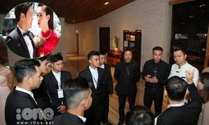 Thắt chặt an ninh ở đám cưới, Đặng Thu Thảo xin lỗi truyền thông