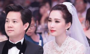 Thu Thảo đẹp lộng lẫy bên chồng đại gia trong tiệc cưới xa hoa