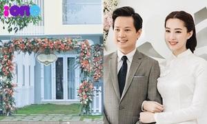 Nhà Hoa hậu Đặng Thu Thảo sẵn sàng chờ chú rể đến rước dâu