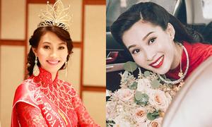 Cách ứng xử khó ai có thể bới móc của Hoa hậu Thu Thảo