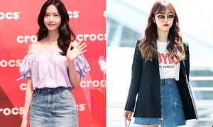 Top 5 thương hiệu thời trang được các sao Hàn mê như 'điếu đổ'