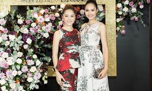 Dàn hoa hậu, á hậu Việt đọ vẻ thanh lịch giữa sự kiện