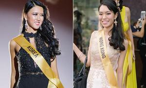 Nhiều đối thủ của Huyền My trong cuộc thi hoa hậu bị chê già nua, kém sắc