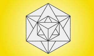 Chỉ có người tài giỏi mới đếm đủ số tam giác có trong hình
