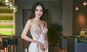 Loạt người đẹp Việt toàn hoa hậu, á hậu, siêu mẫu gợi cảm trong đêm tiệc
