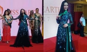 Hà Thu giành HC đồng phần thi tài năng Hoa hậu Trái đất