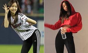 Những lần khoe dáng giúp Na Eun được phong 'nữ hoàng quần legging'