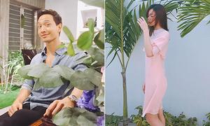 Sao Việt 11/10: Hà Hồ đăng ảnh 'dìm hàng' Kim Lý, Midu người mỏng như lá lúa