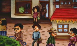 Trong 7 kẻ tình nghi - Ai là kẻ cướp túi xách
