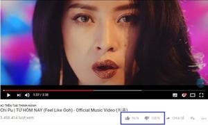 MV debut của Chi Pu nhận lượt dislike 'khủng'