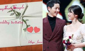 Tưởng thiệp cưới của Song - Song 'chất' lắm, hóa ra sự thật rất thất vọng!