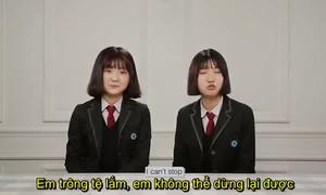 Teen Hàn khuyên nên dùng kem chống nắng từ lớp 2