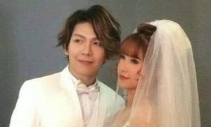 Kelvin Khánh để tóc dài lãng tử chụp ảnh cưới với Khởi My