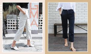 Bí kíp chọn quần, váy che 4 kiểu nhược điểm đôi chân