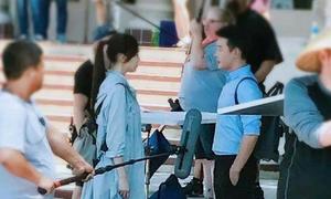 Đường Yên - La Tấn lạnh nhạt khi đóng phim chung, bị nghi đã chia tay