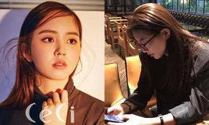 Sao Hàn 17/10: Suzy đổi style chững chạc, Kim So Hyun mặt tròn xoe