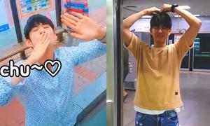 1.001 biểu cảm lưu luyến không rời của chàng trai Hàn khi tạm biệt bạn gái