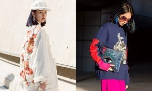 Phí Phương Anh biến hóa đa sắc màu trong ngày đầu 'Seoul Fashion Week'