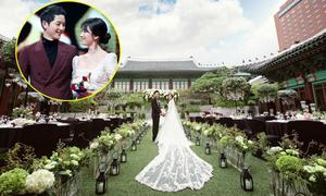 Nơi tổ chức đám cưới đẹp đẽ, sang chảnh bậc nhất Hàn Quốc của cặp Song - Song