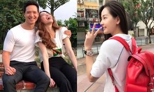 Sao Việt 21/10: Kim Lý ôm ấp Hồ Ngọc Hà, Mai Phương Thúy xì tin đúng chất 'em chưa 18'