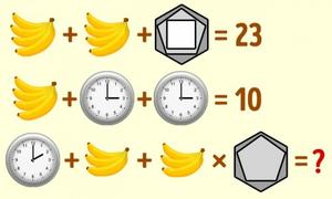 Óc suy luận giỏi sẽ giải được bài toán này trong 15 giây