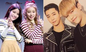 Những cặp idol ở chung nhóm mà như người xa lạ